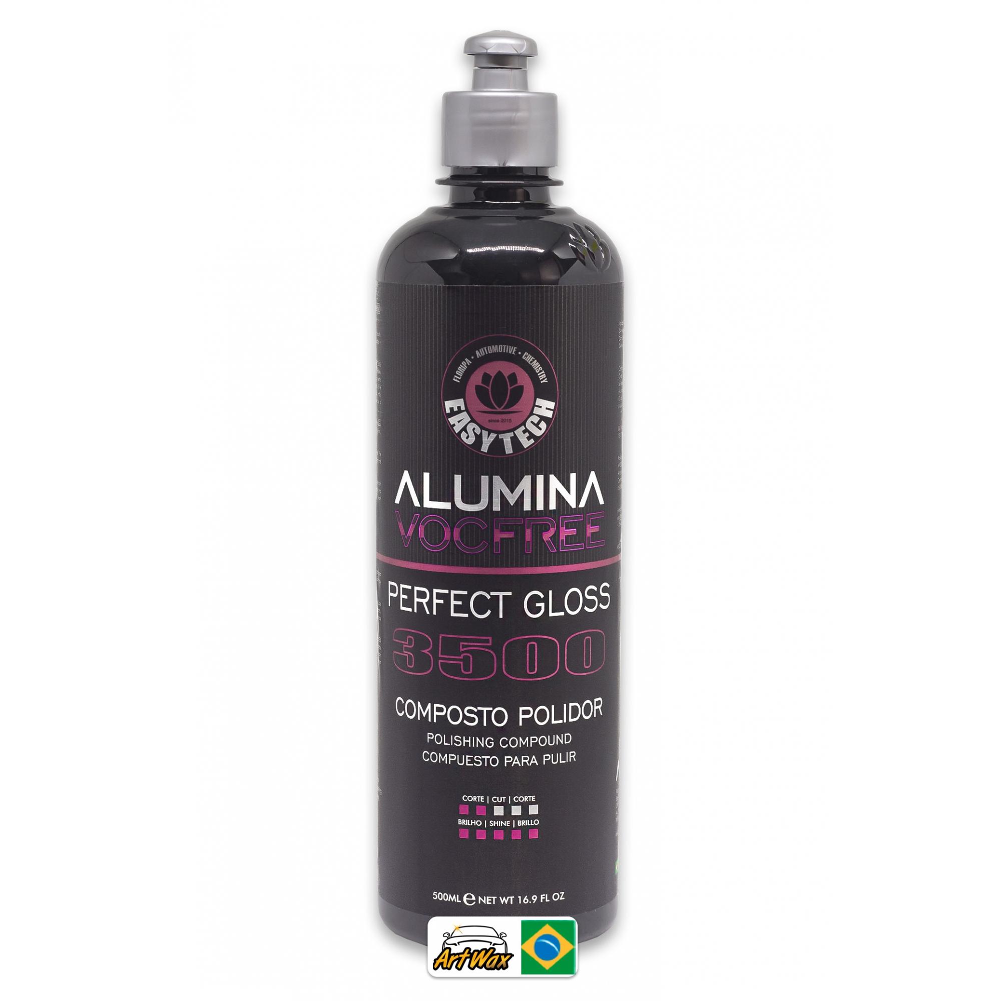 Easytech Alumina 3500 Perfect Gloss 500ml - Composto Polidor Lustro