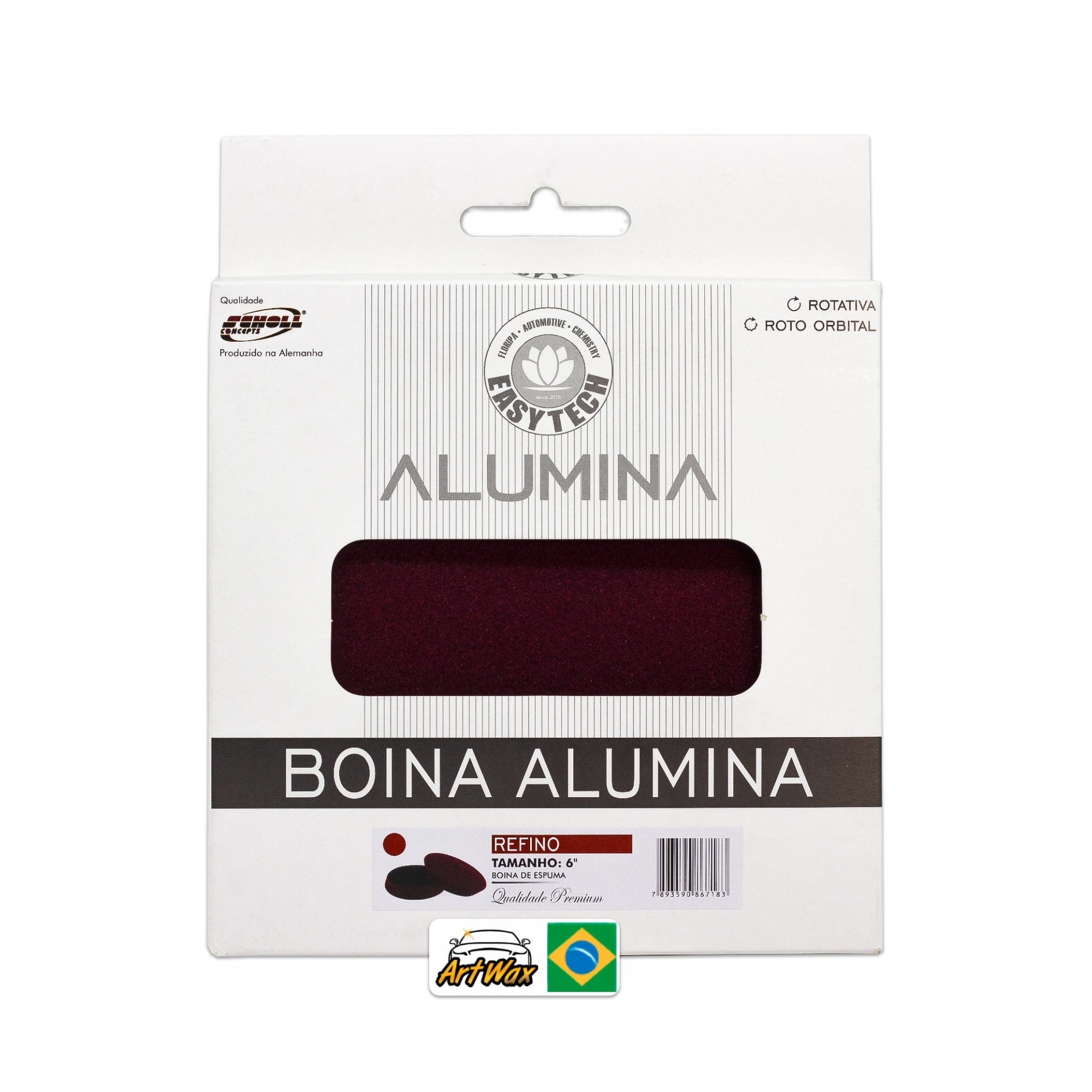 Easytech Boina Alumina Refino 165mm 6