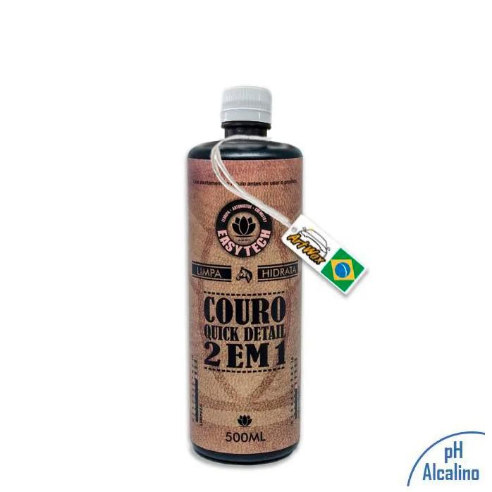 Easytech Couro QD 2 em 1 Limpa e Hidrata Couro 500ml