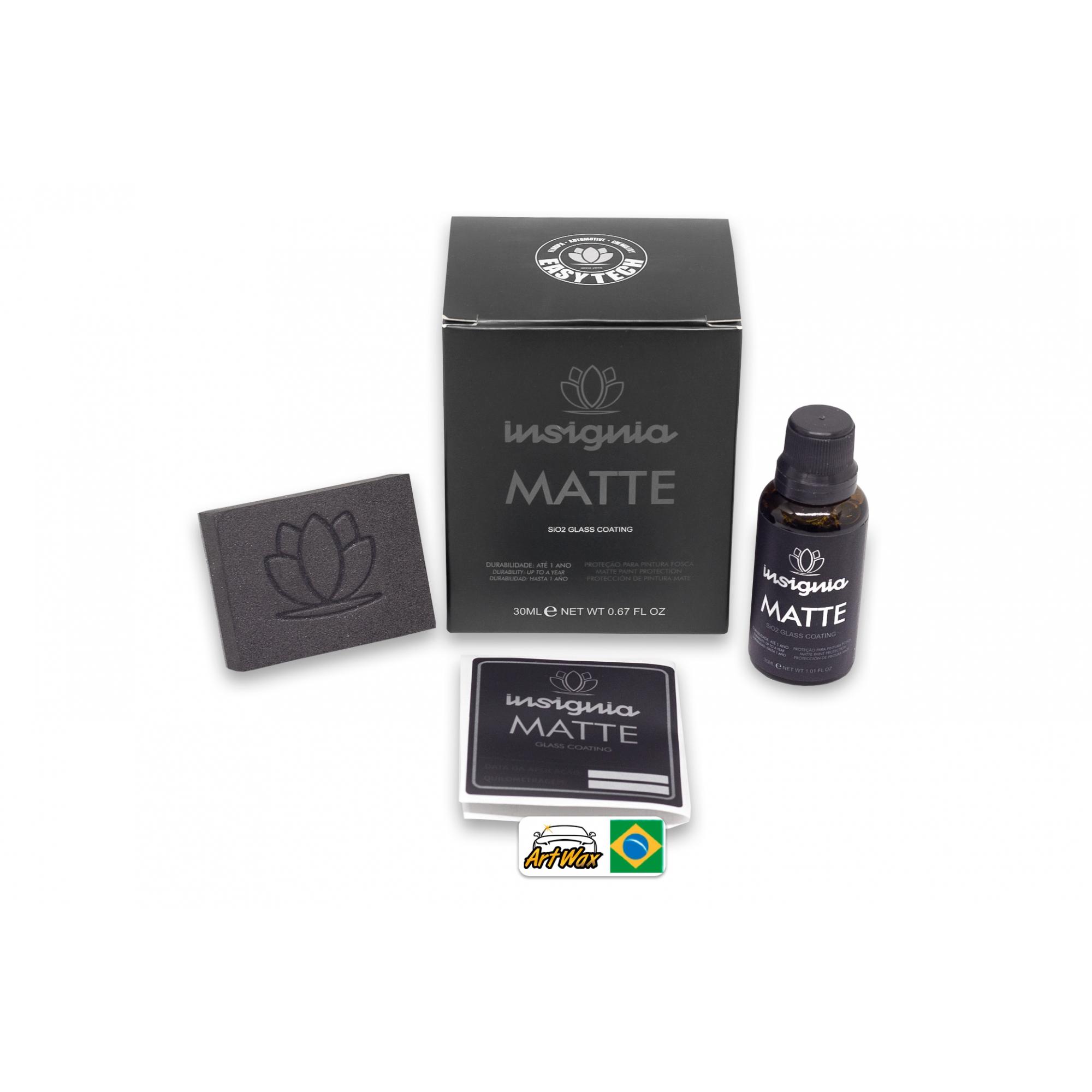 Easytech Insignia Matte 30ml - Vitrificador Para Pintura Fosca