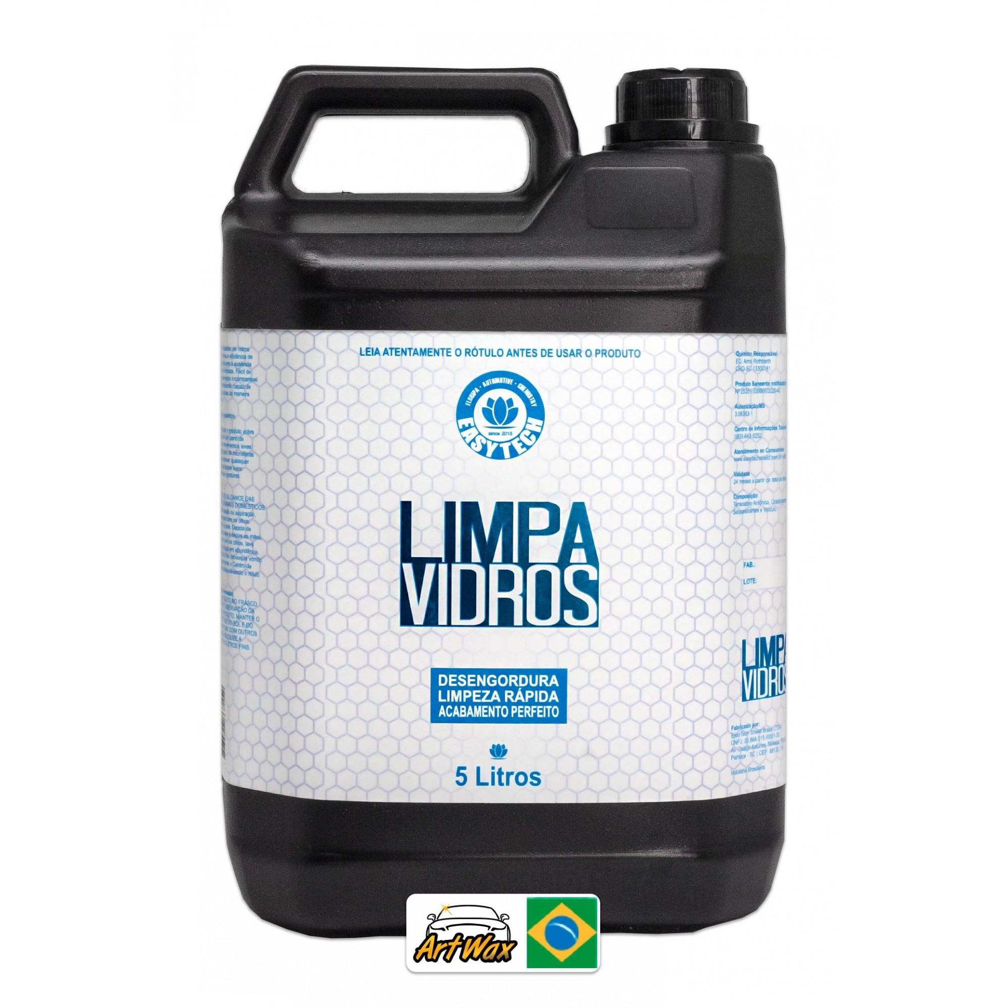 Easytech Limpa Vidros 5L - Desengordurante
