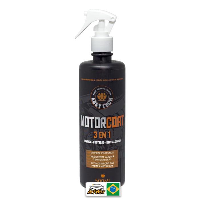 Easytech Motor Coat 3 em 1 500ml - Limpeza Proteção e Revitalização