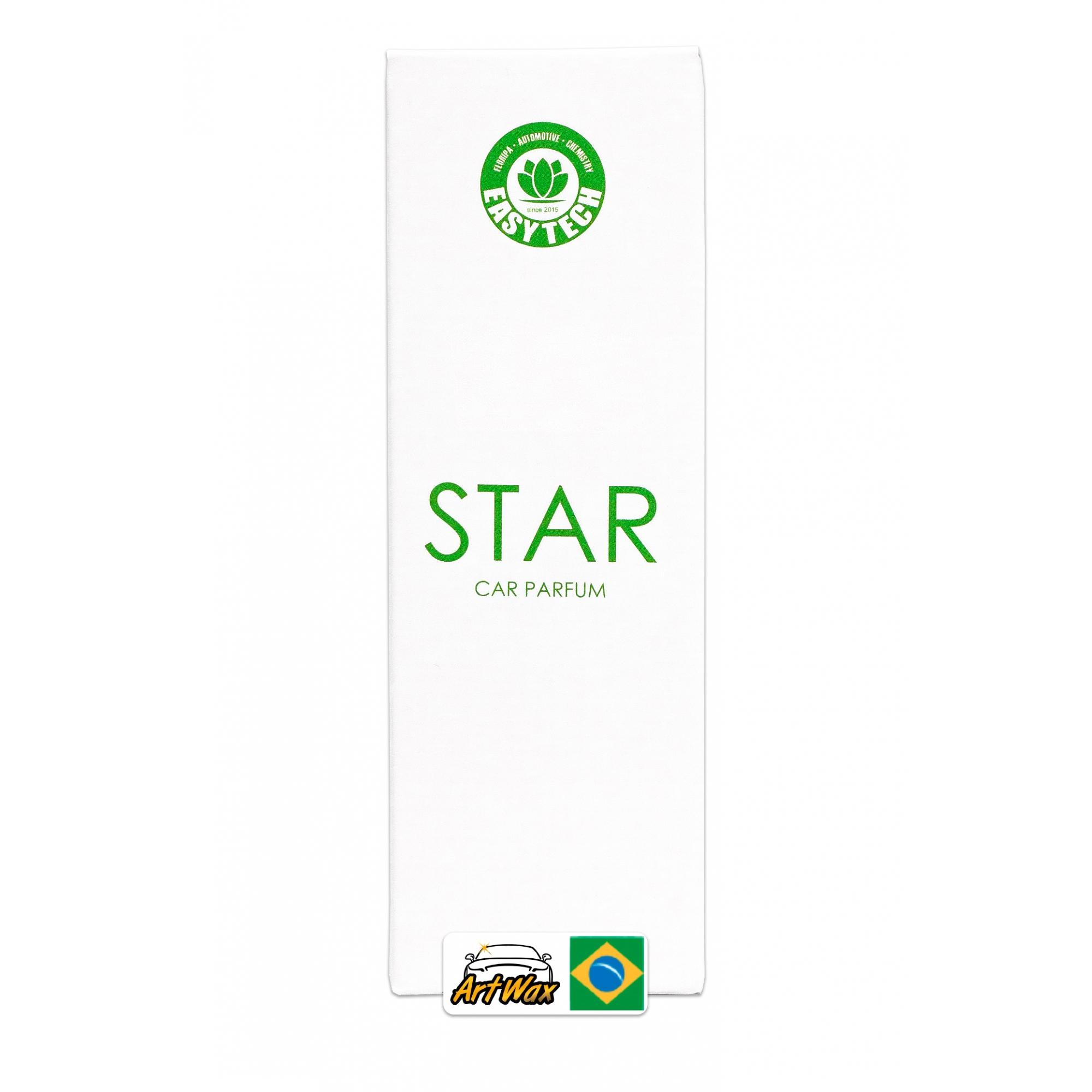 Easytech Star Car Parfum - Aromatizante Spray 50ml