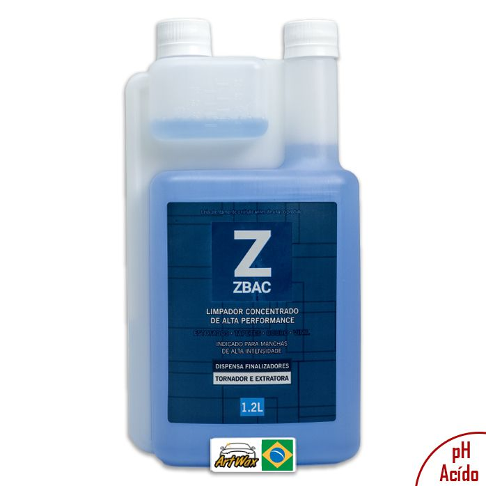Easytech Zbac Bactericida Alvejante e Finalizador 1,2L
