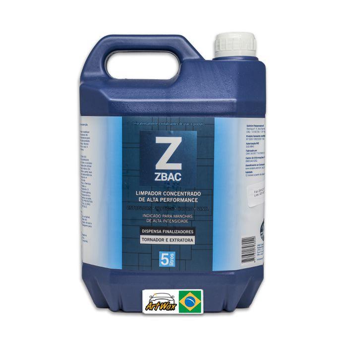 Easytech Zbac Bactericida Alvejante e Finalizador 5L