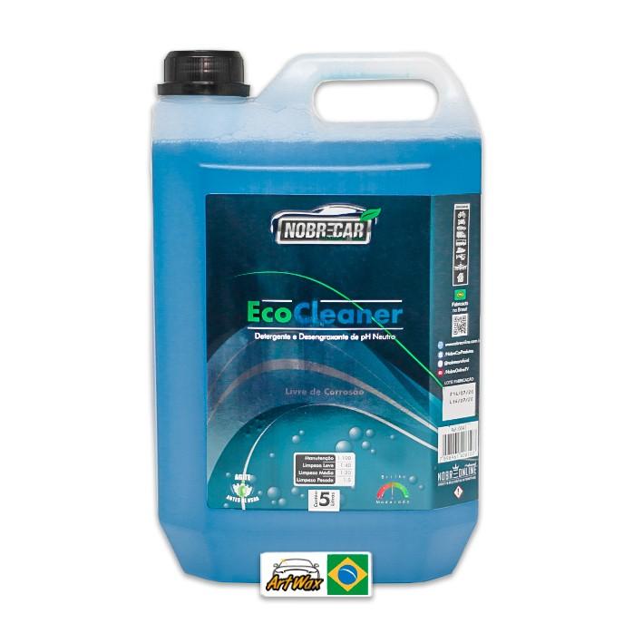 Eco Cleaner Shampoo e Desengraxante pH9 Nobre Car 5L