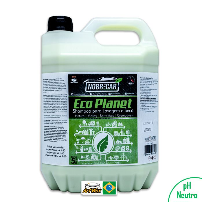 Eco Planet Lava a Seco Nobre Car 5L
