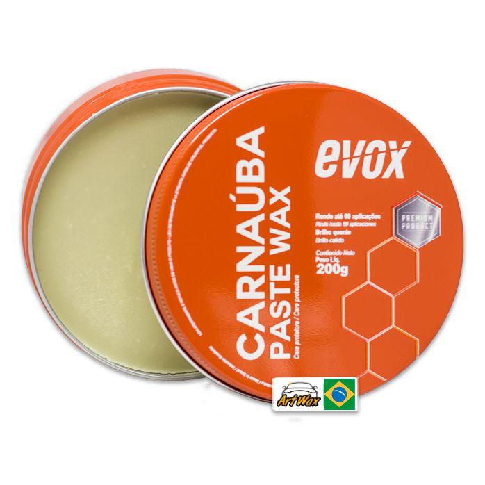 Evox Carnauba Paste Wax 200g - Cera Protetora