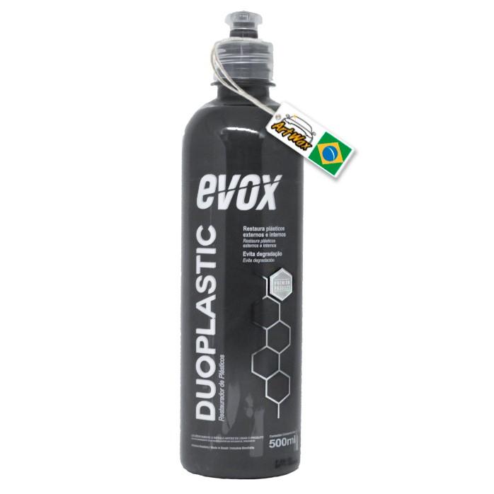 Evox Duoplastic 500ml - Restaurador de Plasticos Internos e Externos