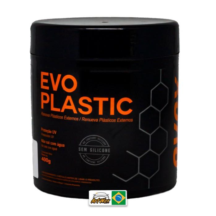 Evox Evoplastic 400g - Renovador de Plasticos Externos