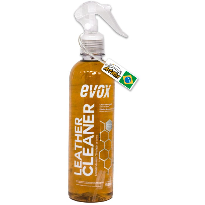 Evox Leather Cleaner 500ml - Limpa Couro Spray