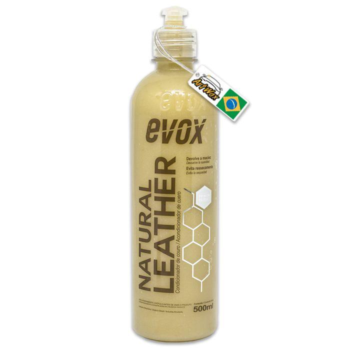 Evox Natural Leather 500ml - Condicionador de Couro