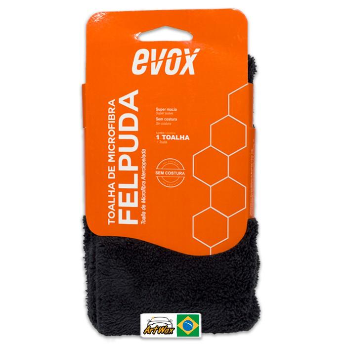 Evox Toalha de Microfibra Felpuda Para Acabamento 40x40cm  410gsm
