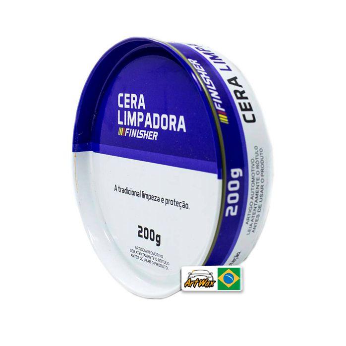 Finisher Cera Limpadora Lata 200g