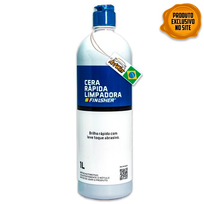 Finisher Cera Rápida Limpadora 1L