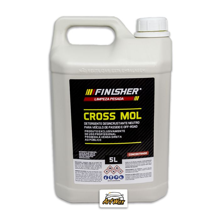 Finisher Cross Mol Detergente Desincrustante Neutro Concentrado 5L