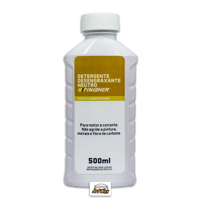 Finisher Detergente Desengraxante Neutro 500ml