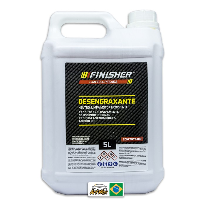 Finisher Detergente Desengraxante Neutro 5L