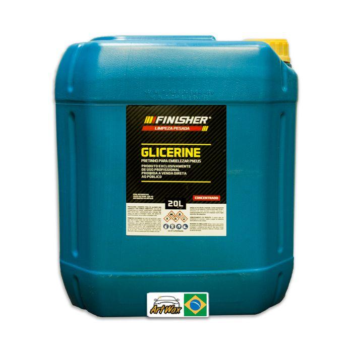 Finisher Glicerine Pretinho Para Pneu 20L