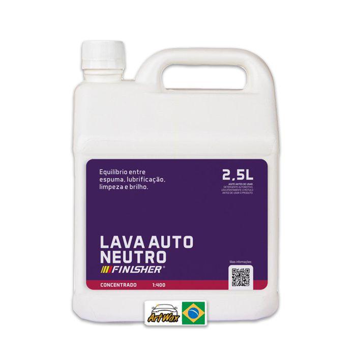 Finisher Lava Auto Neutro 2,5L - Concentrado