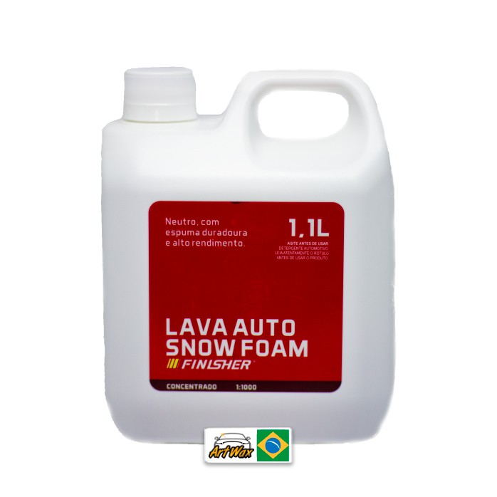 Finisher Lava Auto Snow Foam  1,1L - Concentrado