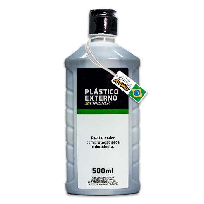 Finisher Plástico Externo - Revitalizador Com Proteção Seca e Duradoura 500ml