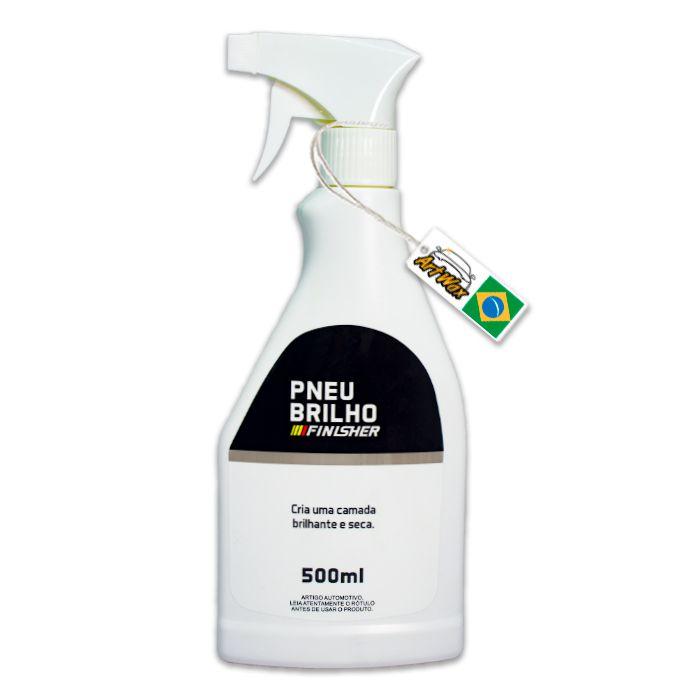 Finisher Pneu Brilho Spray - Gel de Pneu - 500ml
