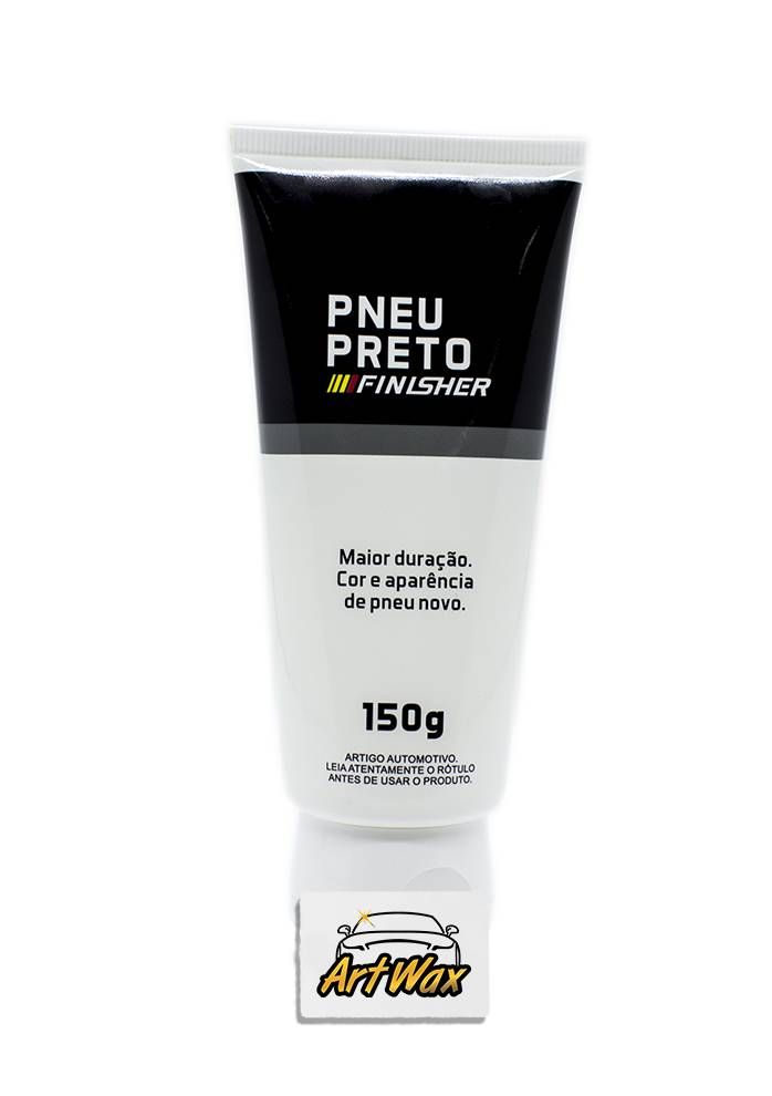 Finisher Pneu Preto - Gel de Pneu - 150g