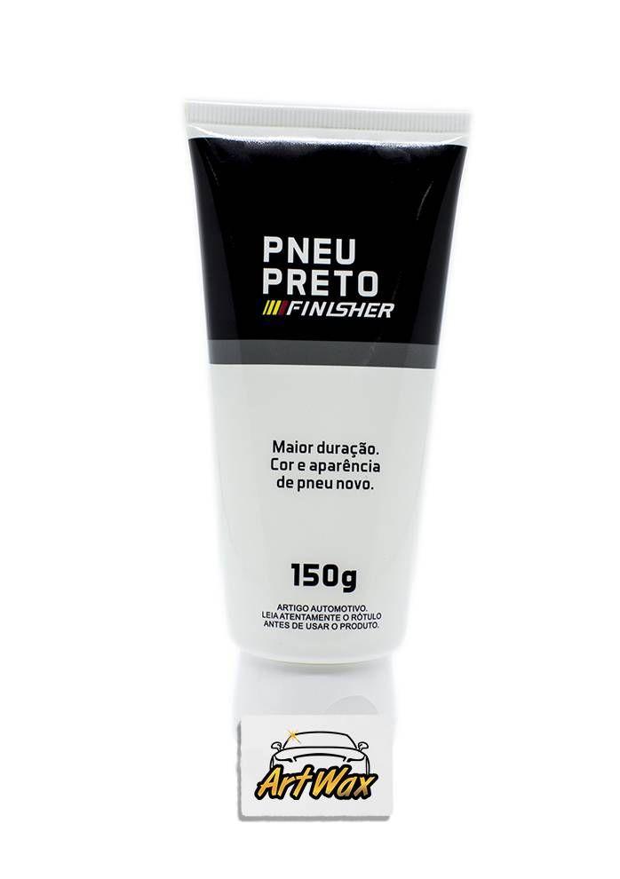 Finisher Pneu Preto - Gel de Pneu - 150g