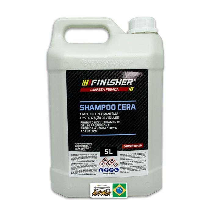 Finisher Shampoo Cera 5L Concentrado - Limpa e Encera