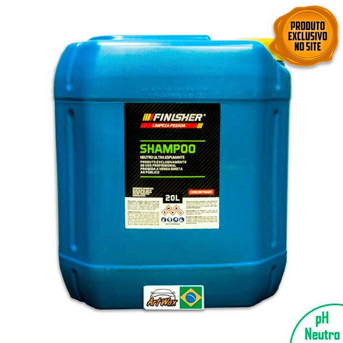 Finisher Shampoo Neutro Espumante 20L - Concentrado