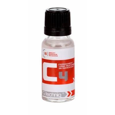 Gtechniq C4 Permanet Trim restorer - Restaurador permanente de plástico - 15 ml