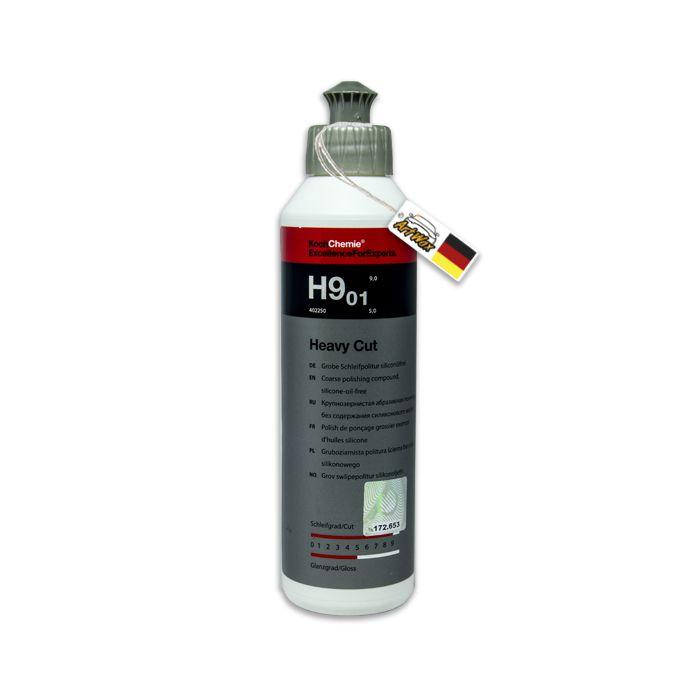 Heavy Cut H9 01 Composto Polidor Corte Pesado 250ml Koch Chemie