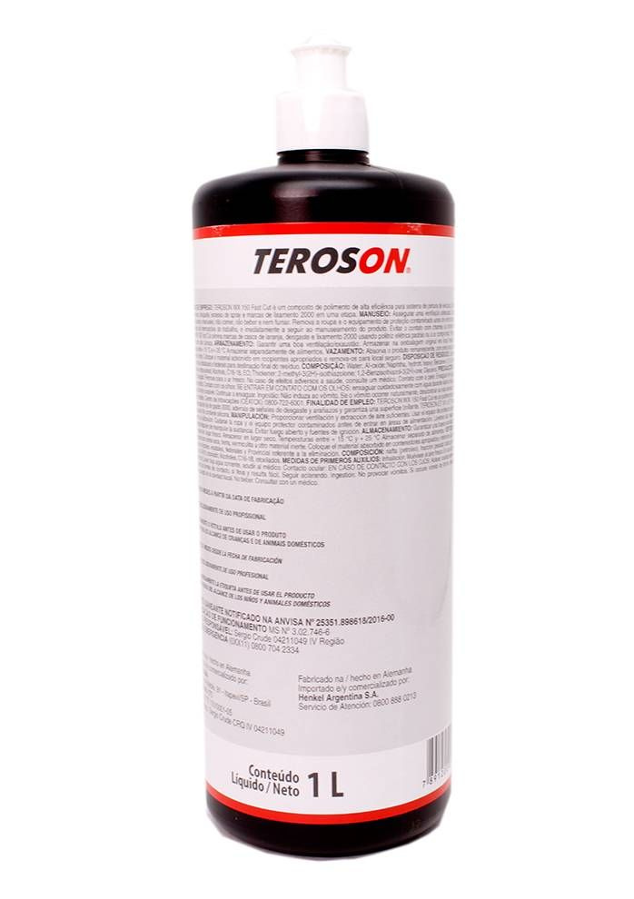 Henkel Teroson WX 150 Corte Rápido - 1L