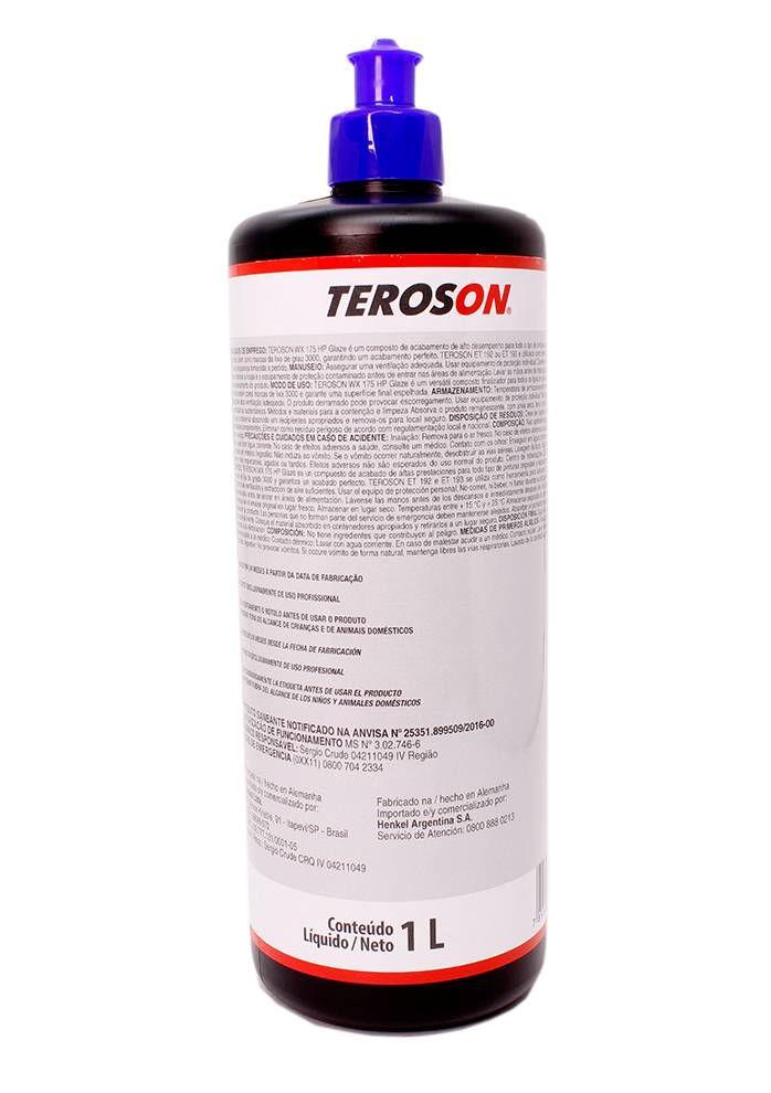 Henkel Teroson WX 175 Glaze HP - Refino - 1L