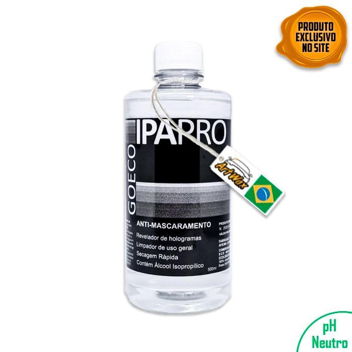 IPA Pro 500ml Anti Mascaramento Com Álcool Isopropilico Go Eco Wash