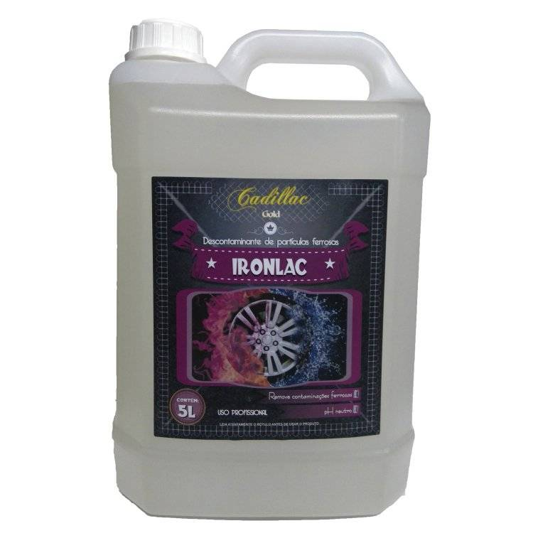 Ironlac Descontaminante de Superfícies Cadillac - 5L