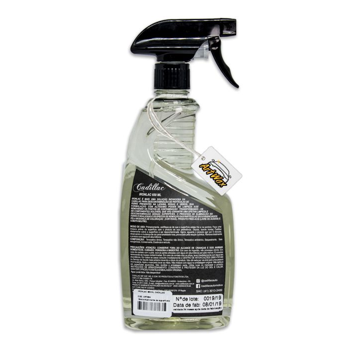 Ironlac Descontaminante de Superfícies Cadillac - 650ml