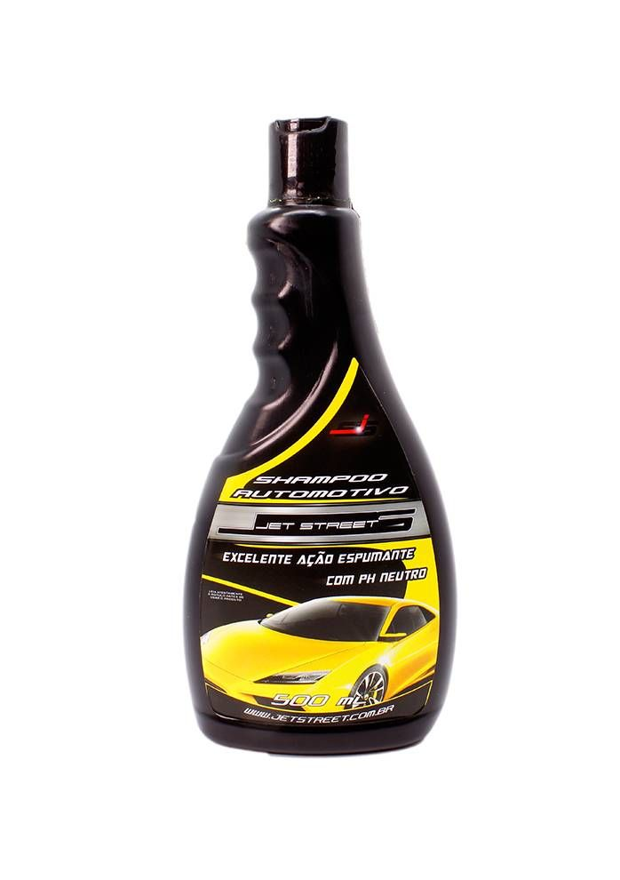 Jet Street Shampoo Automotivo 1:100 - 500ML