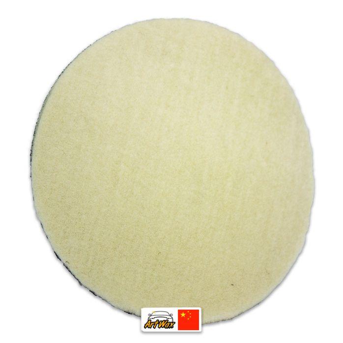 Kers Disco de Lã Natural Curto 6