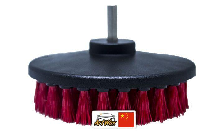 Kers Escova Vermelha Super Agressiva Drill - Parafusadeira/Furadeira