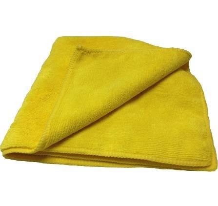 Kers Pano de Microfibra Amarelo 40x40cm - 380GSM