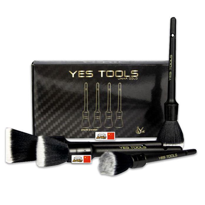 Kers Pincel Premium Para Detalhamento Yes Tools 4un