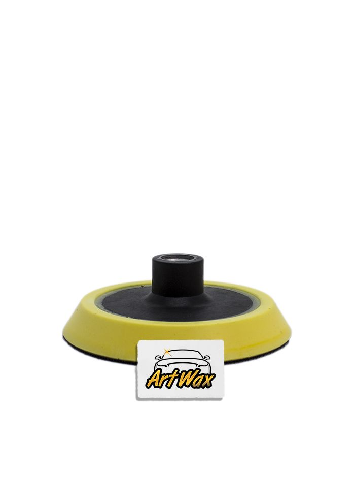 """Kers Suporte para Boinas com Velcro Amarelo - Rosca 5/8"""" - 4,5"""""""