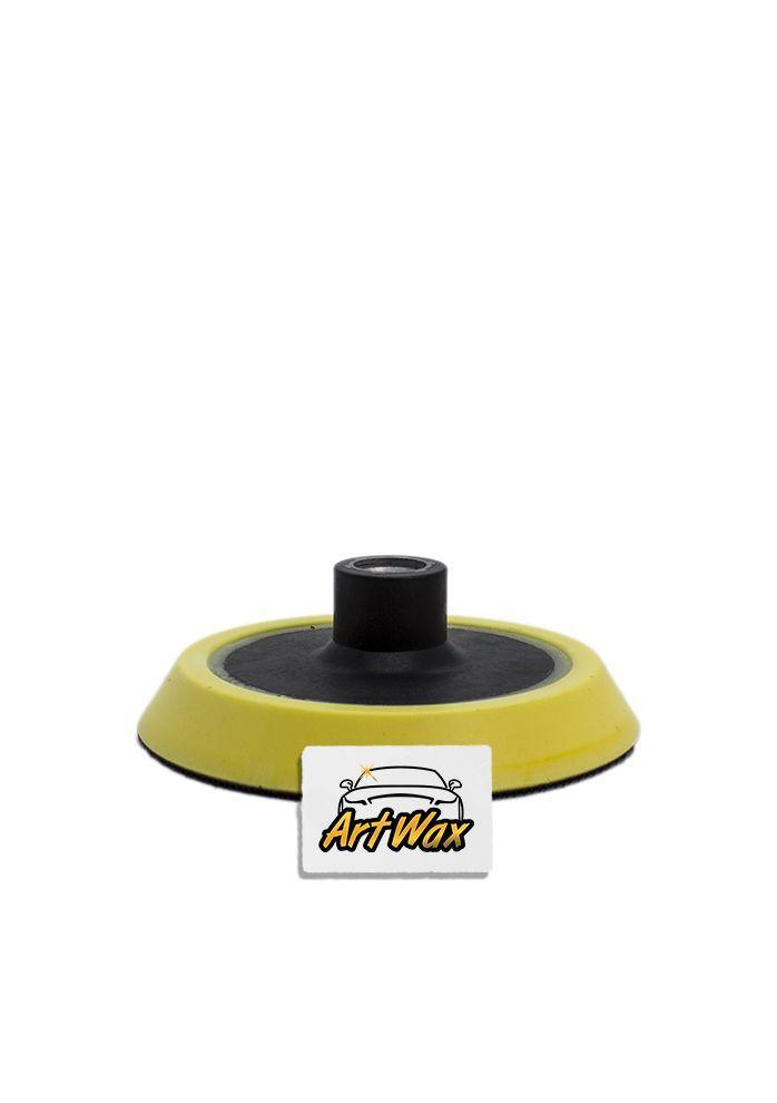 Kers Suporte para Boinas com Velcro Amarelo - Rosca 5/8