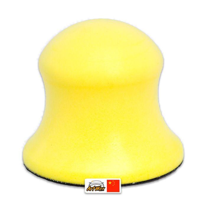 Kers Taco Tipo Cone com Velcro Amarelo 3