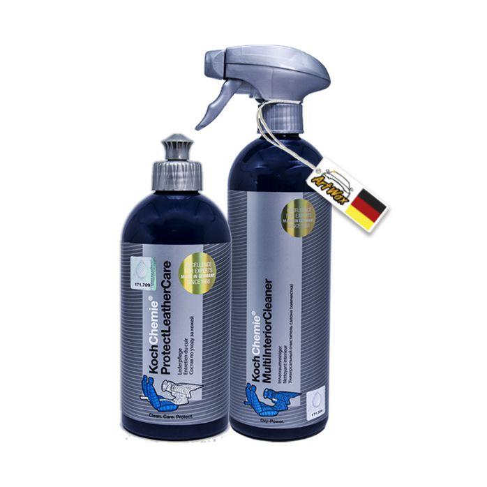 Kit Limpeza e Acabamento Interno - Koch Chemie