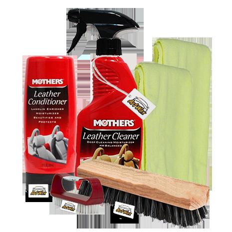 Kit Limpeza e Hidratação do couro Completo