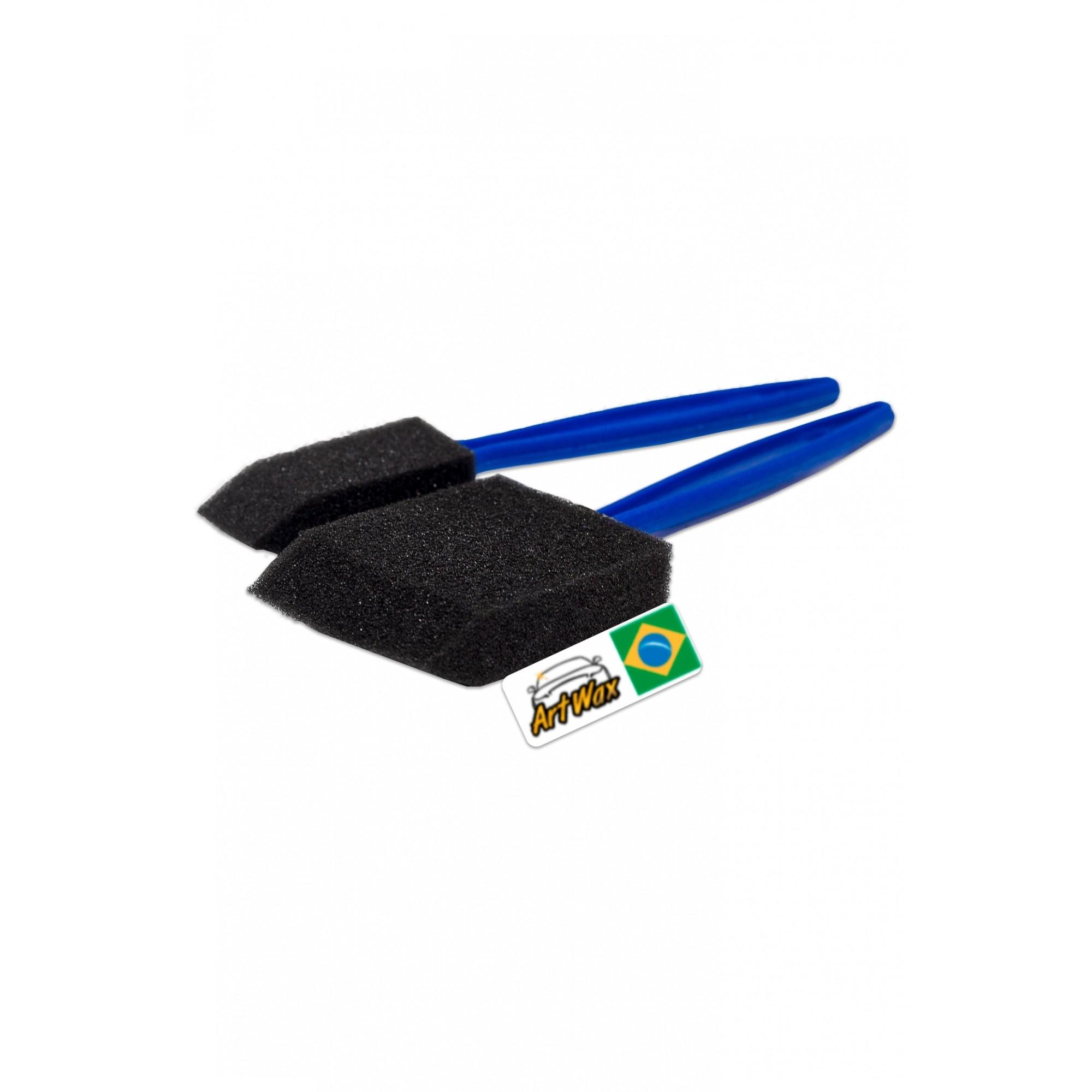 Kit Pincéis de Espuma Para Grades Externas e Difusores de Ar Vonixx - 4 Peças