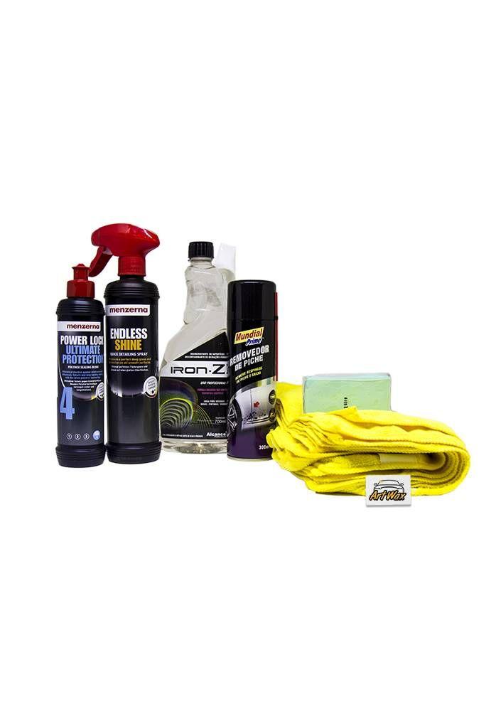 Kit Preparo e Proteção da Pintura Completo